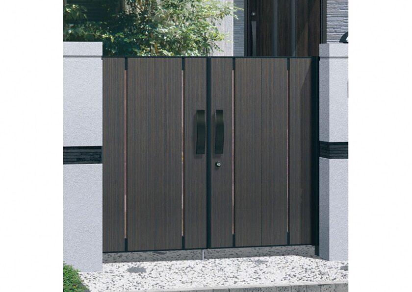 2型 両開き 木調色 ラグレシア 三協アルミ